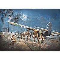 Italeri AS.51 Horsa MK.I/II/British Paratroops Plastic Model Airplane Kit 1/72 Scale #5513