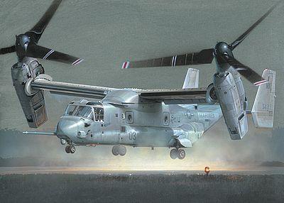 v 22 osprey plastic model helicopter kit 1 48 scale 552622 by rh hobbylinc com v-22 osprey natops manual V 22 Osprey Gun Turret