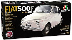 Italeri 1/12 Fiat 500F Version 1968 Car (New Tool)