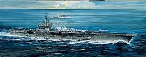 Italeri USS America Plastic Model Military Ship Kit 1/720 Scale #555521