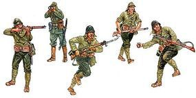 Italeri WWII Japanese Infantry Plastic Model Military Figure Kit 1/72 Scale