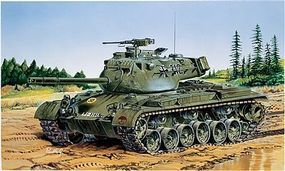 Italeri M47 Patton Tank Plastic Model Military Vehicle Kit 1/35 Scale #556447