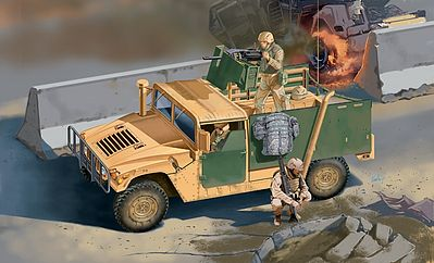Italeri M998 A1 -- Plastic Model Military Vehicle Kit -- 1/35 Scale -- #556511