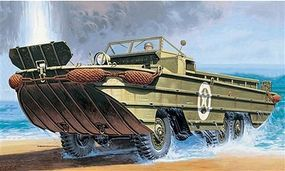 Italeri DUKW WWII Amphibious Vehicle Plastic Model Military Vehicle Kit 1/72 Scale #557022