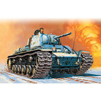 Italeri KV1 M41 Tank Plastic Model Military Vehicle Kit 1/72 Scale #557049