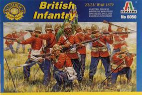 Italeri British Infantry Zulu War 1879 Plastic Model Military Figure Kit 1/72 Scale #6050