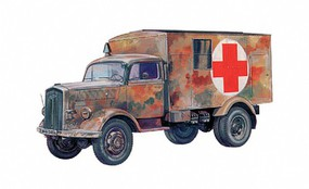 Italeri Kfz 305 Ambulance Plastic Model Military Vehicle Kit 1/72 Scale #7055s