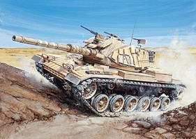 Italeri 1/72 Magach 6 Israeli Main Battle Tank (New Tool)
