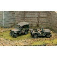 Italeri 1/4 Ton 4x4 Truck Plastic Model Military Vehicle Kit 1/72 Scale #7506s