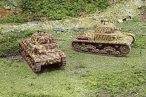 Italeri WWII Italian Carro Armato M13/40 Plastic Model Military Vehicle Kit 1/72 Scale #7517s