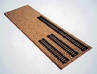 Itty Bitty Lines (bulk of 12) Cork yard pads - HO-Scale