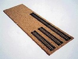 Itty-Bitty (bulk of 12) Cork yard pads - HO-Scale