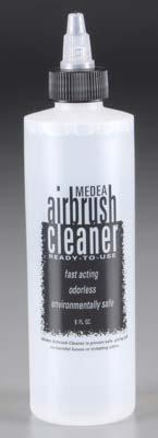 Iwata Airbrush & Accessories Medea Airbrush Cleaner -- 8 oz Bottle -- #650008