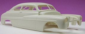 JimmyFlintstone 1949 Mercury 4 Chopped Roof Body for AMT Resin Model Vehicle Accessory 1/25 #nb132