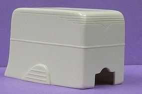 JimmyFlintstone 1950s Auro Cargo Box Trailer Body Resin Model Vehicle Accessory 1/43 Scale #nb3