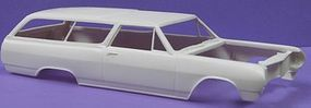 JimmyFlintstone 1965 Chevelle 300 2-Door Wagon Body & Interior Resin Model Vehicle Accessory 1/25 #nb70