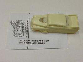 JimmyFlintstone 1949 Mercury Pro Mod Body for Thunderjet Chassis Resin Slot Car Body HO #sl2
