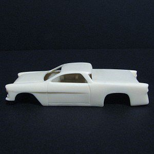 Jimmy Flintstone 1955 Camino Body and more for 4-Gear Chassis -- Resin Slot Car Body -- HO Scale -- #sl36