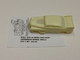 JimmyFlintstone 1949 Mercury Pro Mod Body for 4-Gear Chassis Resin Slot Car Body HO Scale #sl8
