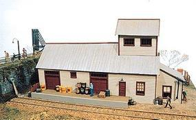 JL Hubermill Warehouse Kit Model Railroad Building HO Scale #121