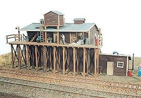 JL Brookside Ice House Model Railroad Building HO Scale #191