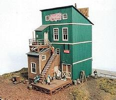JL Woodys Model Railroad Building HO Scale #211