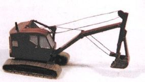 JL Bantam Backhoe Excavator Model Railroad Vehicle N Scale #2161