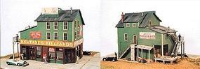 JL Bertanis Billiards Model Railroad Building HO Scale #351