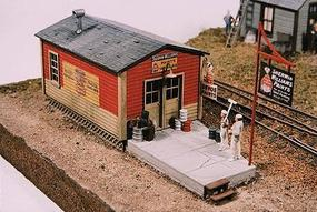 JL FS Jones Painting Model Railroad Building HO Scale #441