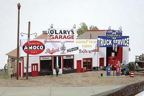 JL OLarys Garage Model Railroad Building HO Scale #481