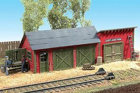 JL East Junction Tool Shed Kit Model Railroad Building HO Scale #581