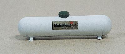 JL Innovative Design Custom Large Propane Tank White -- Model Railroad Building Accessory -- HO Scale -- #728