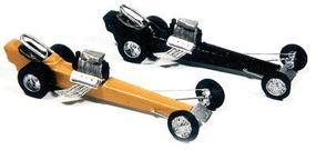 JL Vintage Dragster 2 Pack Model Railroad Vehicle HO Scale #921
