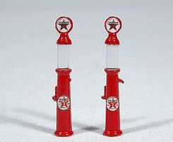 JL Gravity Feed Gas Pump Texaco Model Railroad Building Accessory HO Scale #934