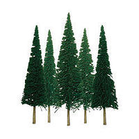 JTT Pine Trees (6 to 10) 12 pack O Scale Model Railroad Tree #92004