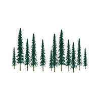 JTT Conifer Pine N Scale Model Railroad Tree #92010