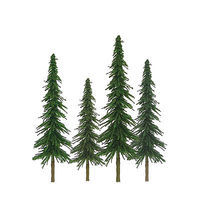 JTT Spruce Trees O Scale Model Railroad Tree #92028
