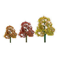 JTT Premium Deciduous Trees - Autumn HO Scale Model Railroad Tree #92061