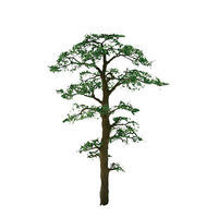 JTT Scots Pine Trees Z Scale Model Railroad Tree #94433