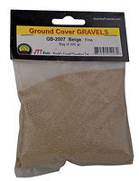 JTT Gravel Beige Fine 200 grams Model Railroad Ground Cover #95207
