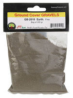 JTT Gravel Earth Fine 200 grams Model Railroad Ground Cover #95210