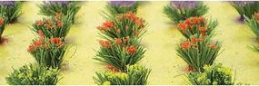 JTT Detachable Flower Bushes HO Scale Model Railroad Ground Cover #95581