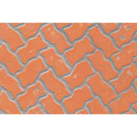 JTT Patterned Plastic Interlocking Paving Stone HO Scale Model Railroad Building Accessory #97430