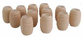JV Wooden barrels        12/ - O-Scale (12)