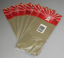 K-S (bulk of 6) Brass Sheet 4x10 .005 (6) Hobby and Craft Metal Sheet Metal Strip #250