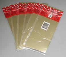 K-S .010x4x10 Brass Sheet Metal (1pc) (6pcs/dlr.pk)