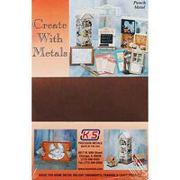 K-S Copper Sheet .016 5X7 (1) Hobby and Craft Metal Sheet Metal Strip #6525