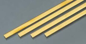 K-S Brass Strip .064x1/4x36 (4)