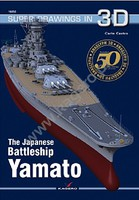 Kagero Super Drawings In 3D- The Japanese Battleship Yamato