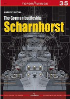 Kagero Topdrawings- German Battleship Sharnhorst